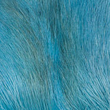Deer Belly Hair - Bright Blue
