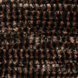 Variegated Chenille - Black/Coffee (VG2304)