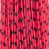 Barred Round Rubber - Medium, Pink/Black (RRB302)