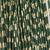 Barred Round Rubber - Medium, Dk. Olive/Gold (RRB307)