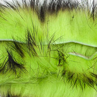 Rabbit Strips Cross Cut Two-Toned - Black/Chartreuse