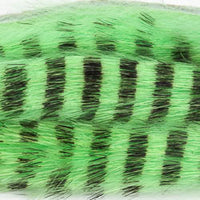 Rabbit Zonkers, Black Barred Magnum - Chartreuse (BMR54BL)