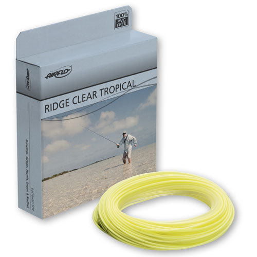 Airflo Ridge Clear Tip Tropical Fly Line - 12' Tip