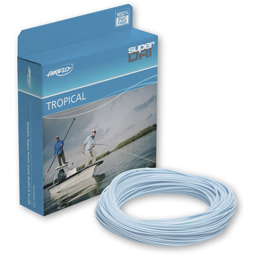 Airflo Ridge Tarpon Tropical - Intermediate, Clear/Blue