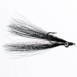 Clouser - Black, Bead Chain Eye