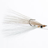 Clouser - Tan/White, Lead Eye