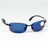 Costa del Mar Ballast Sunglasses - Black, Blue Mirror, 580P