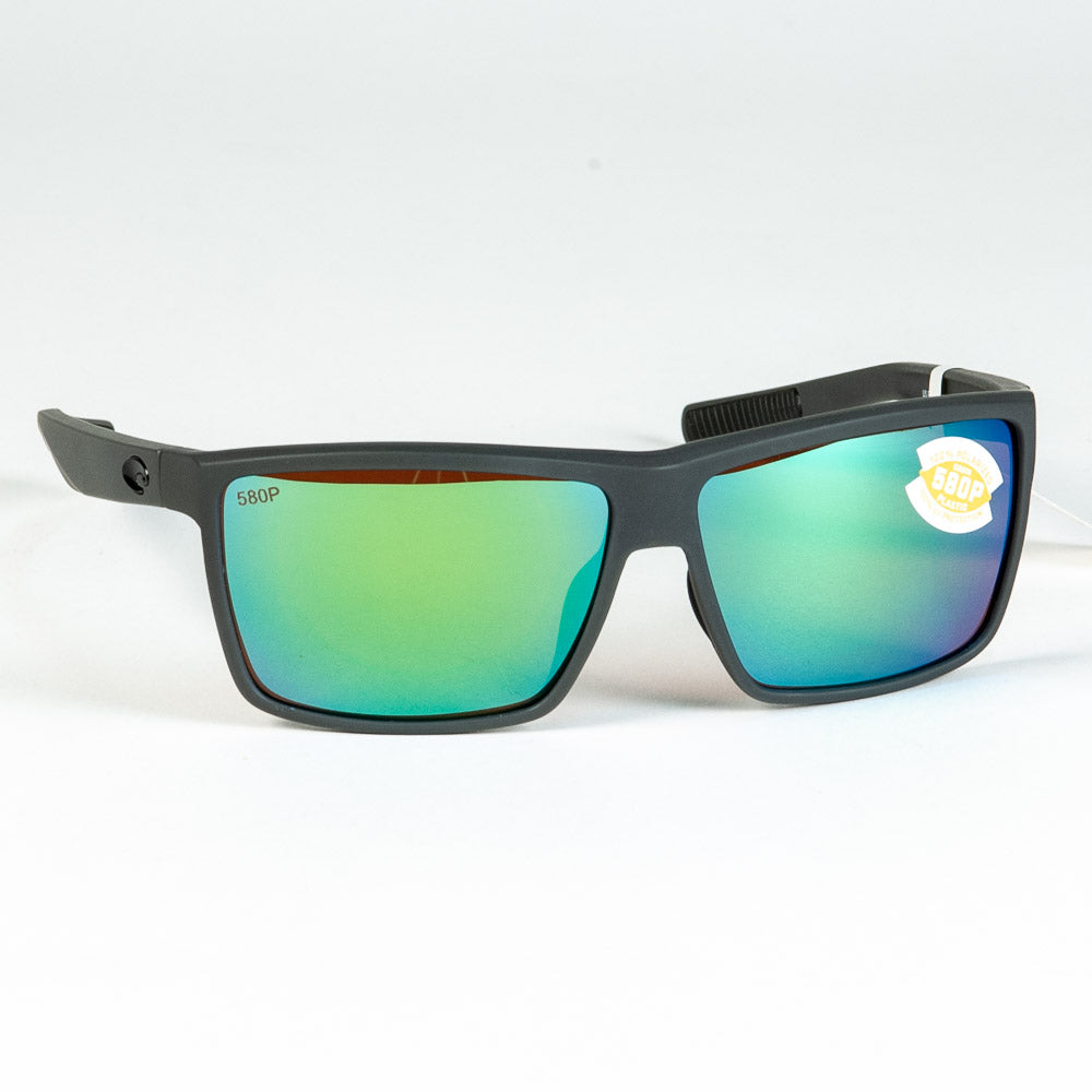 Costa del Mar Rinconcito Sunglasses - Matte Gray, Green Mirror, 580P