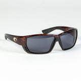 Costa del Mar Tuna Alley Sunglasses - Tortoise, Gray, 580P
