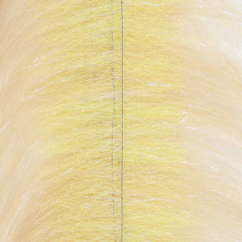 EP Craft Fur Brush - Sand/Chartreuse