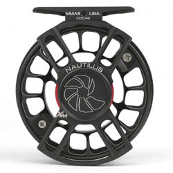 Nautilus X-Series Fly Reel, XL MAX - 8/9wt, Black