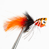 Popper With Legs - Orange/Black