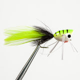 Popper With Legs - Chartreuse/Black