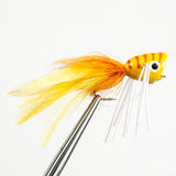 Popper With Legs - Yellow/Orange