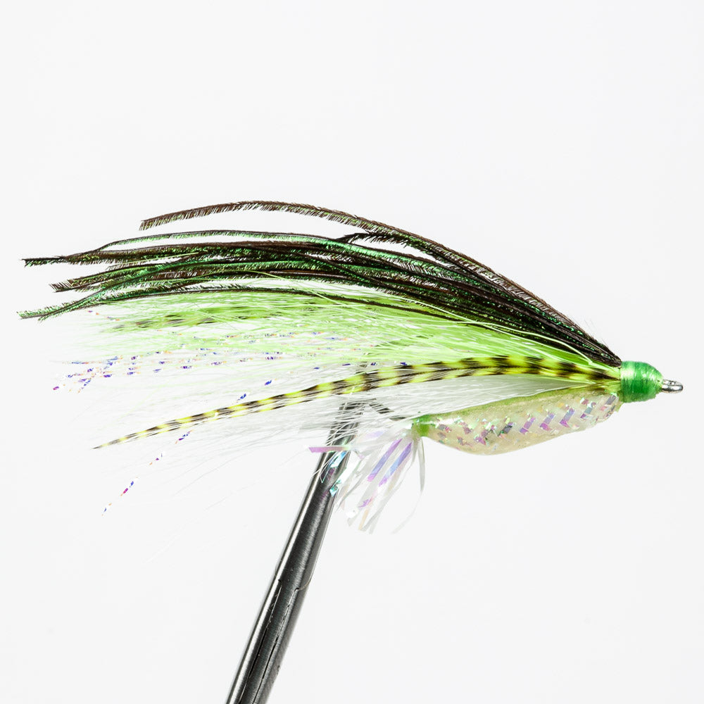 Rattle Rouser - Chartreuse/White