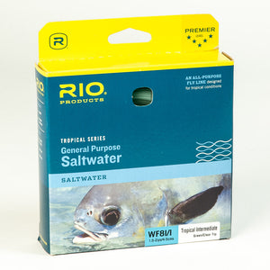 Rio Tropical Intermediate Fly Line