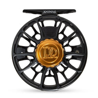 Ross Animas Fly Reel - Matte Black, Front
