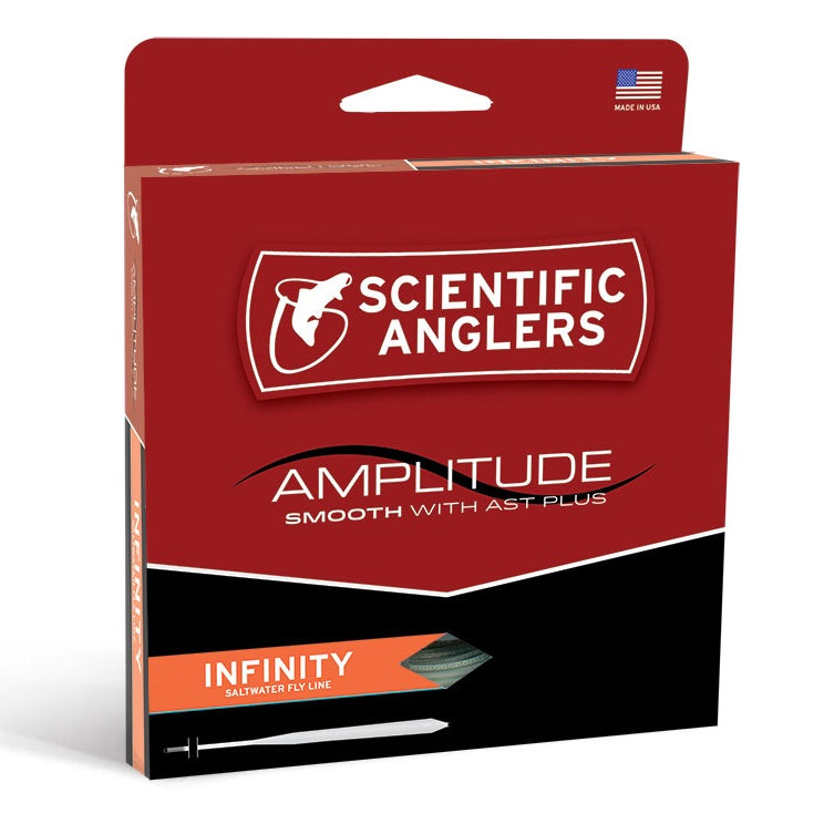 SA Amplitude Smooth Infinity Salt Fly Line