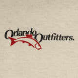 Orlando Outfitters Logo Tee - Sand, Front