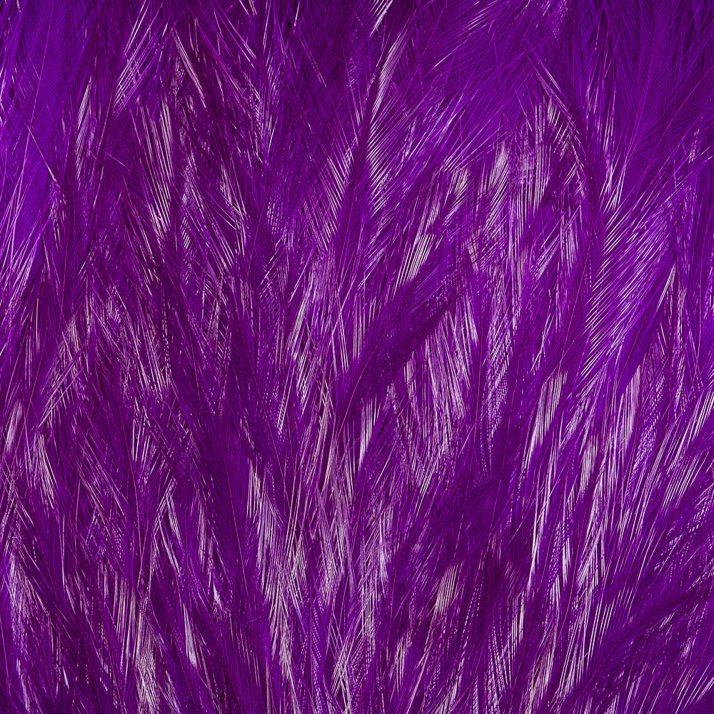 Streamer Rooster Neck - Purple
