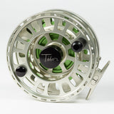 Tibor Signature Fly Reel - Satin Gold/Lime, 11/12S