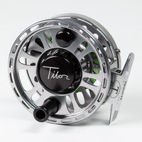 Tibor Signature Fly Reel - Graphite Gray/Lime, 5/6