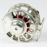 Tibor Signature Fly Reel - Satin Gold/Red, 5/6