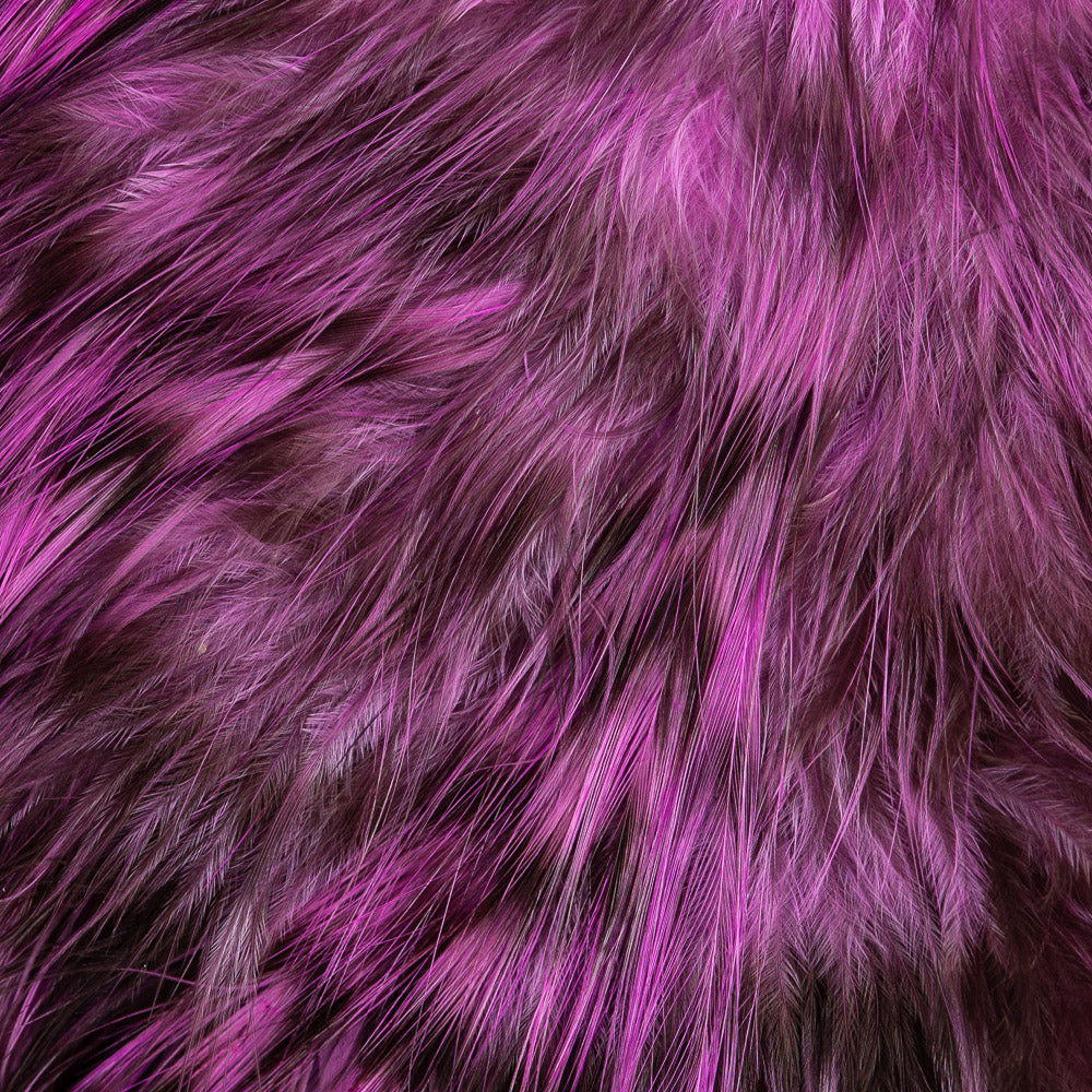 Fly Tying-Whiting Farms Spey Bird Fur Grizzly dyed Tan