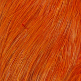 Whiting Bird Fur - White Dyed Burnt Orange