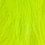 Whiting Bird Fur - White Dyed Fl Yellow Chartreuse