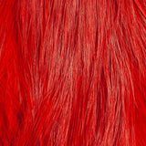 Whiting Bird Fur - White Dyed Red