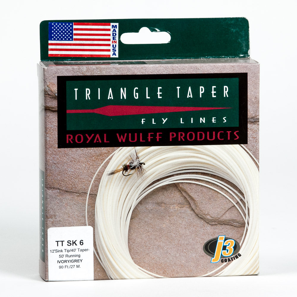 Royal Wulff Triangle Taper Sink Tip Fly Line