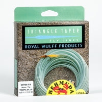 Royal Wulff Bermuda Triangle Taper Saltwater Lost Tip Fly Line