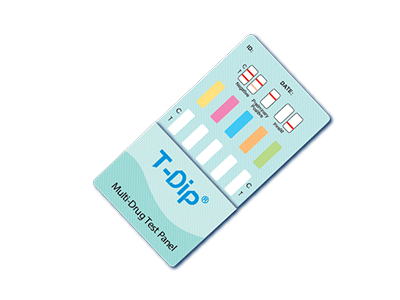 T-DIP Multi Drug Test Cards