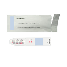 Second-Hand Smoke Urine and Diaper Test Dip Cards with collection cups