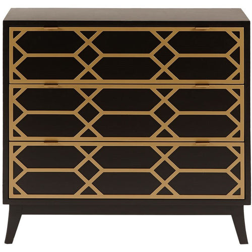 maria gold lattice accent chest chest shoppe boulevard - Accent Chests