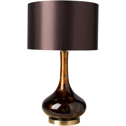 Carroll Bronze Traditional Table Lamp