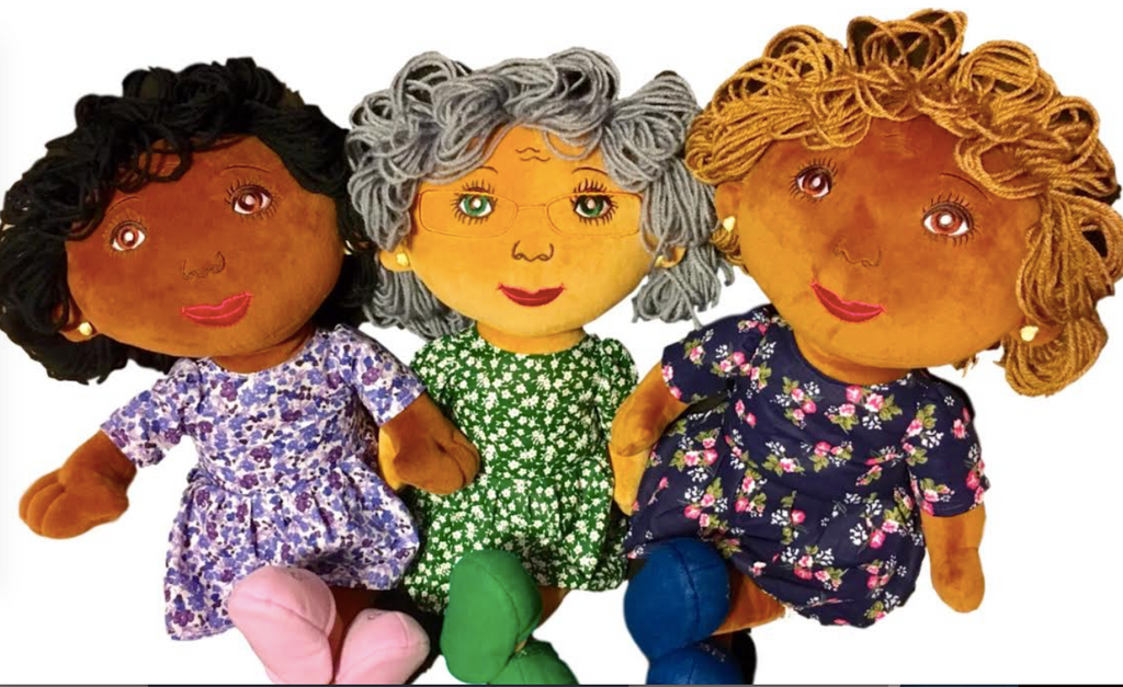 Check out our three new dolls!