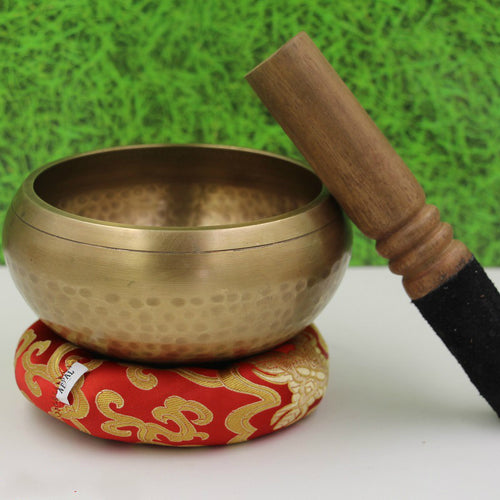 Vedic Groove Tibetan Singing Bowl (Hand Hammered) - dealsbreak