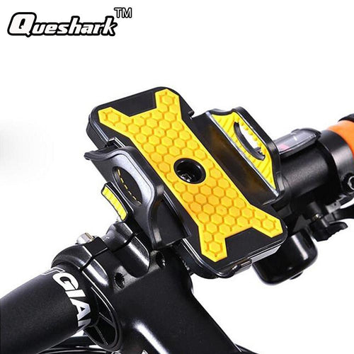 Queshark Universal Military Grade Bike Phone Holder - dealsbreak