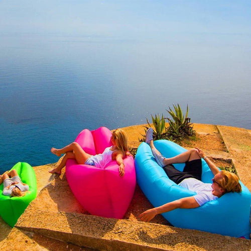 INFLATABLE AIR SOFA BED LOUNGE - dealsbreak