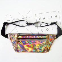 Women  Holographic Waist Pouch - dealsbreak