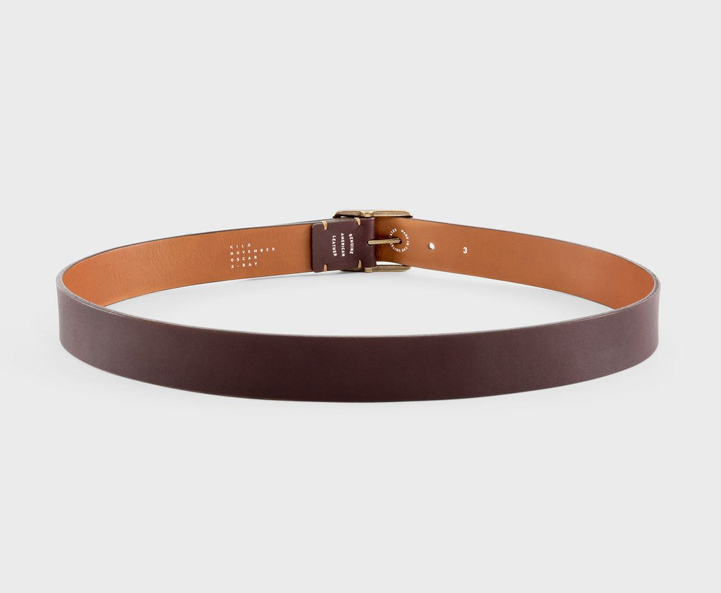 Upton belt - Knox chocolate