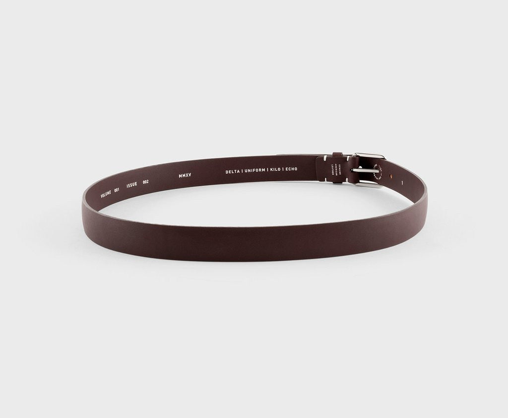 Upton belt - Duke chocolate