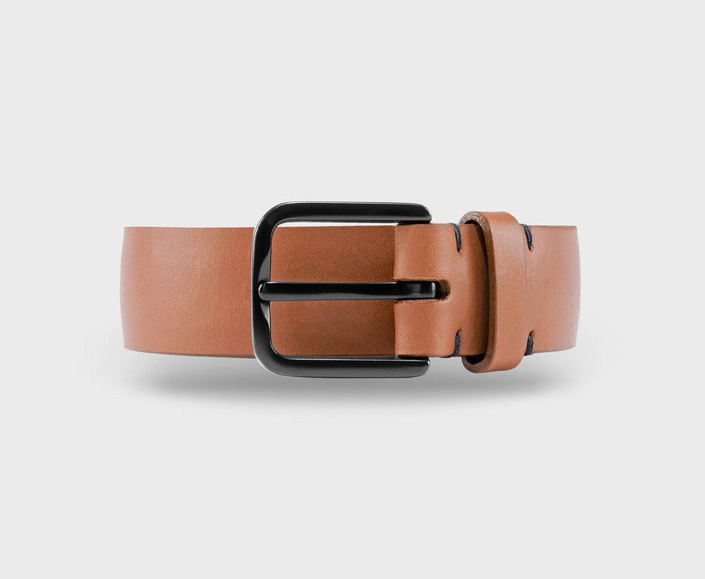 Upton belt - Duke cognac