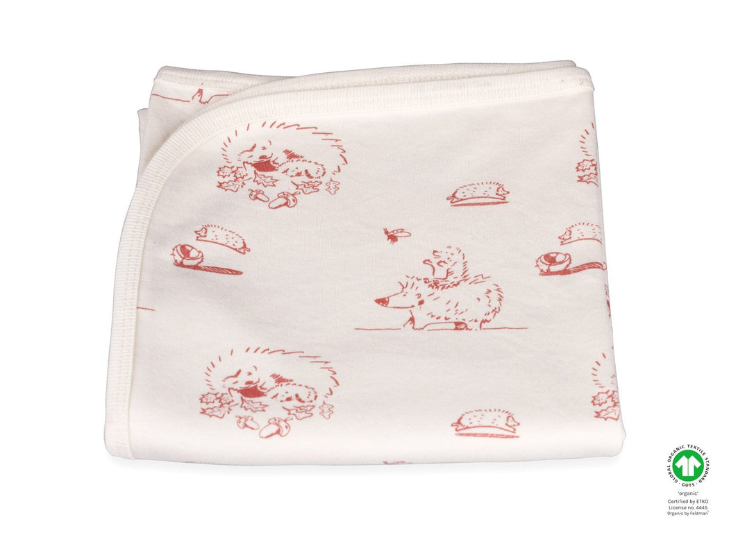 Joy of Life Hedgehog child organic cotton baby blanket