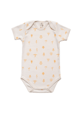 Protective Forest Baby Body Kurzarm