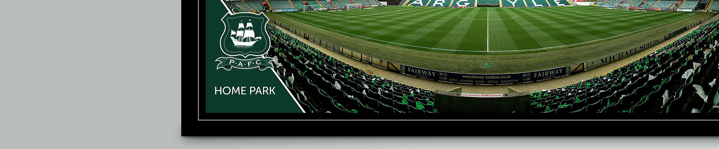 Home Park Stadium Panoramic Prints