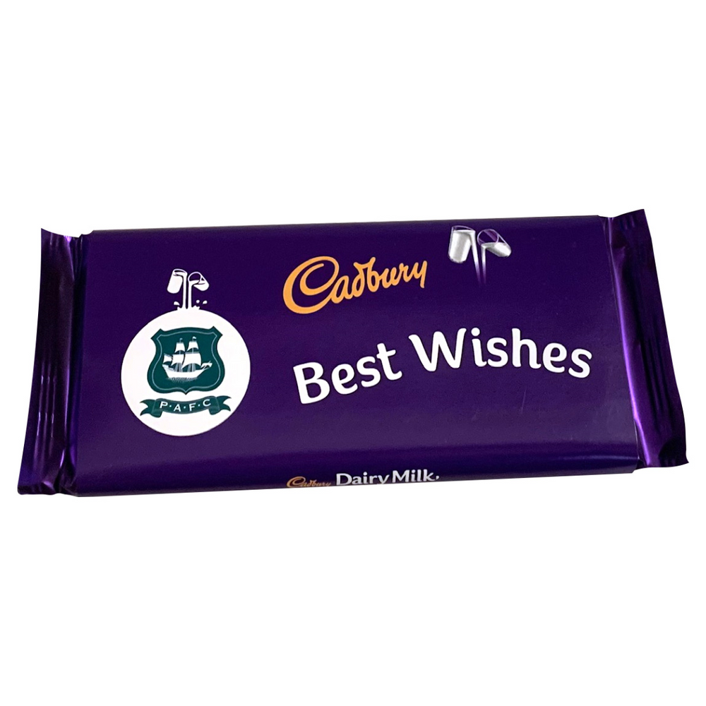 Best Wishes Crest Cadbury