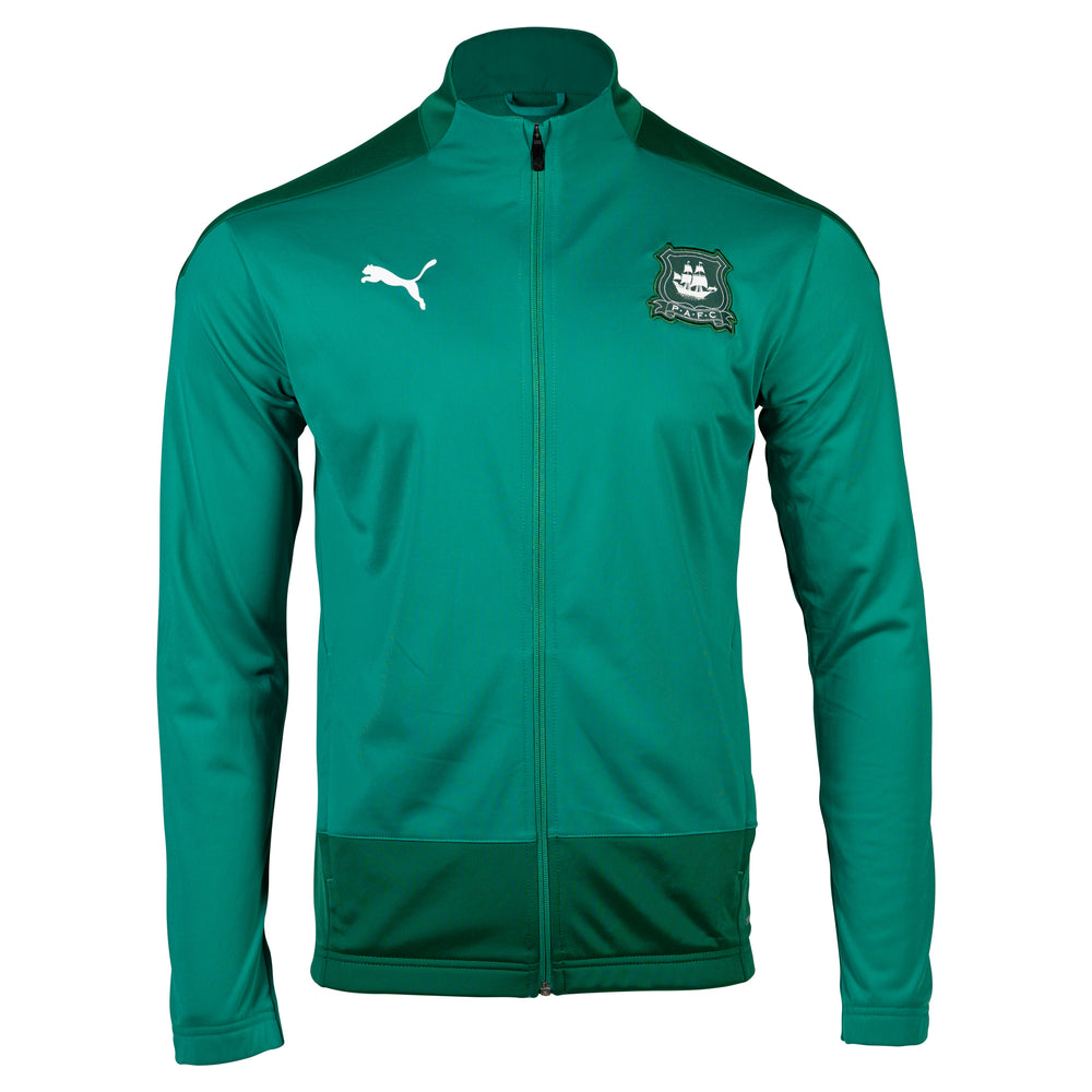 20-21 Adult Green Training Jacket